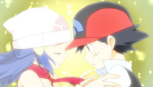 Ash e Dawn um amor pokemon escrita por caio120