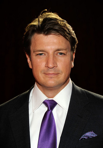 Nathan Fillion hình nền with a business suit, a suit, and a two piece called People's Choice Awards 2012