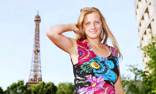 Petra Kvitova Paris 2012