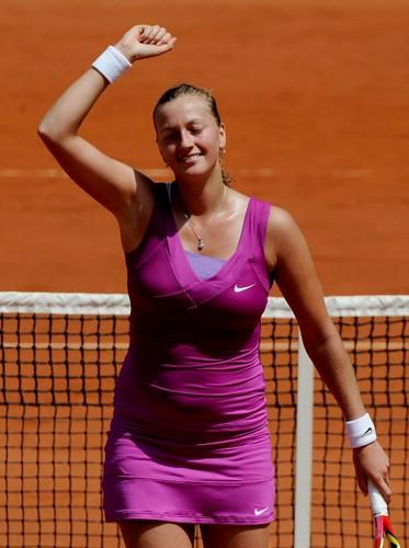 Petra Kvitova belly 2012