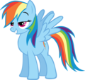 Pleased arco iris Dash