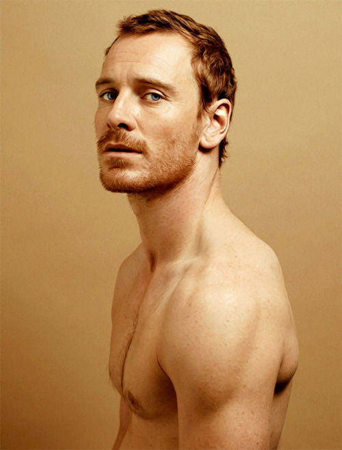 Portrait of Michael Fassbender for Time Magazine and Mood Magazine
