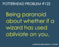 Potterhead problems 121-140