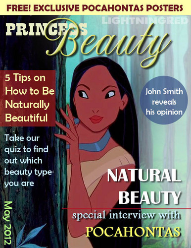 Princess Beauty May 2012 - disney-princess Fan Art