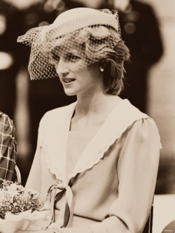 Princess Diana in Canada 1983