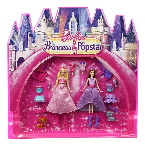 Princess-Popstar Mini dolls.