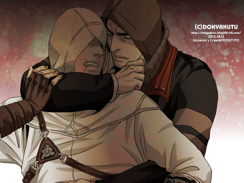 Prototype-Assassin's Creed crossover art.