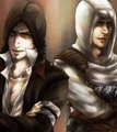 Prototype-Assassin's Creed crossover art.