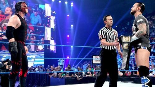 Punk vs Kane for the wwe Championship