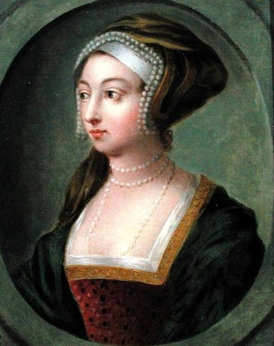 Anne Boleyn fond d'écran probably with a kirtle, rapporté and a surcoat, surcot titled Queen Anne Boleyn