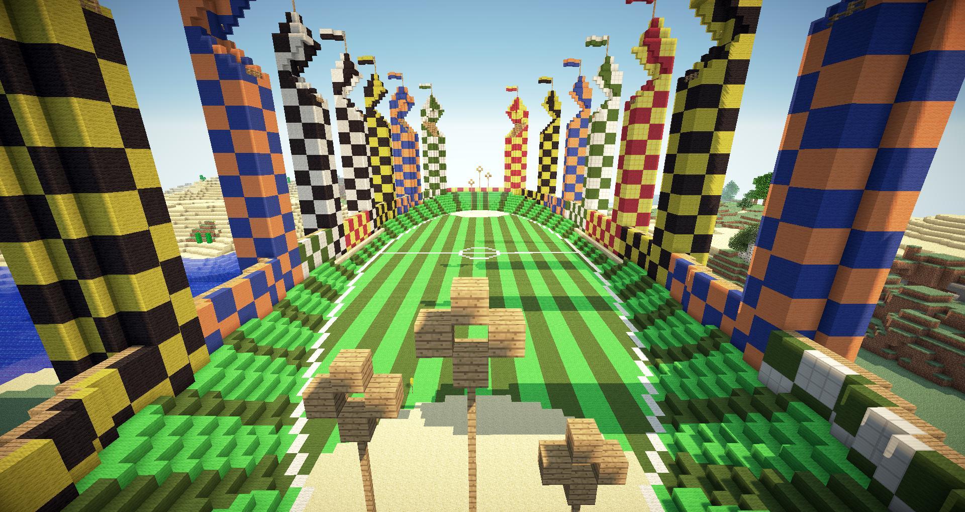 Quidditch Pitch Minecraft Minecraft Gallery imag...