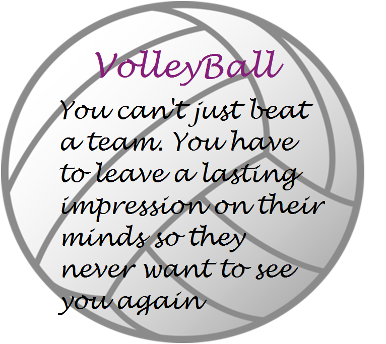 inspirational volleyball quotes and sayings quotesgram