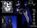 Raven teen-titans girls