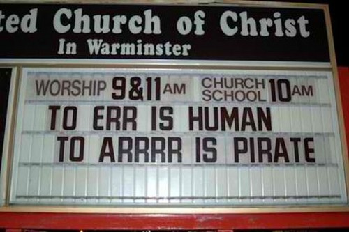 Ridiculous Church Signs