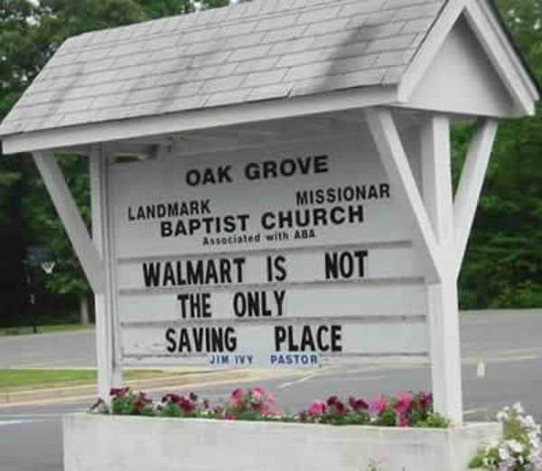 Ridiculous Church Signs