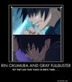 Rin Okumura/ Gray Fullbuster