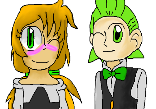 Rin and Cilan