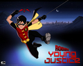 Robin - teen-titans-vs-young-justice wallpaper