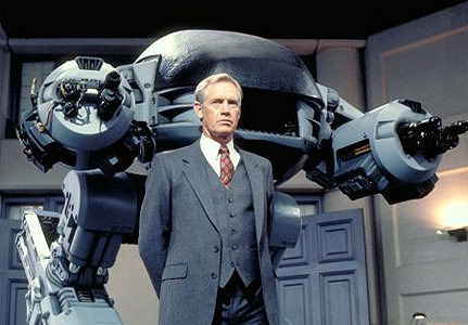 Robocop wallpaper containing a business suit entitled Robocop