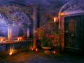 Romantic evening - daydreaming wallpaper