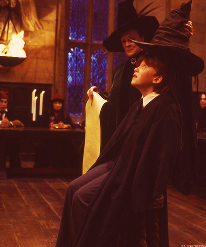 Ronald in HP & the Philosopher's Stone