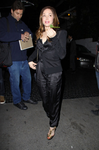 Rose - At Chateau Marmont, April 19, 2012