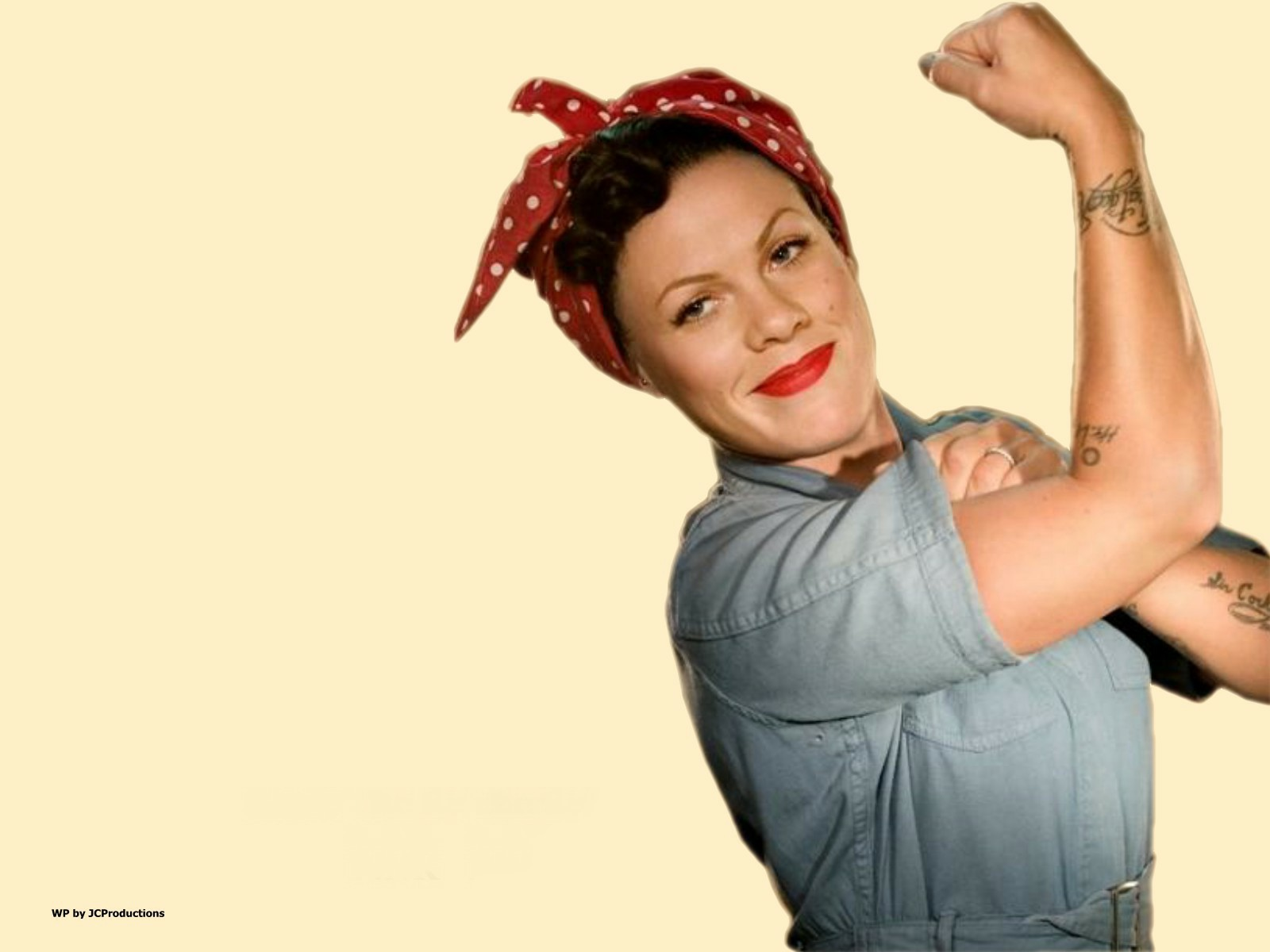 Rosie The Riveter a.k.a. P!nk