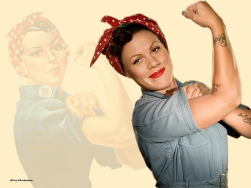 Rosie The Riveter a.k.a. P!nk