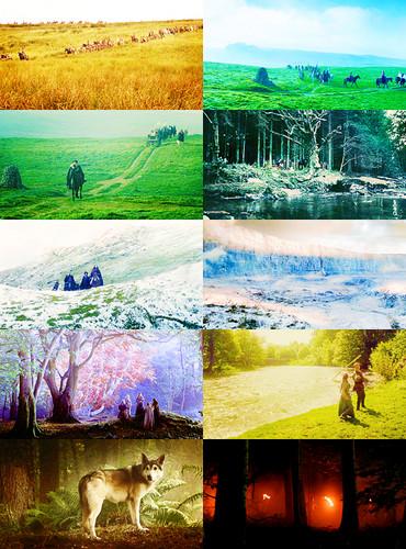 SCENERY PORN↳ Game of Thrones (Season 1, Episode 2)