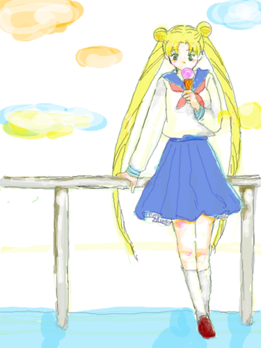 SM fanarts - sailor-moon Photo