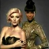Antm winners 写真 possibly with a bustier, a surcoat, and a chemise titled SOPHIE AND TYRA
