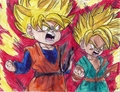 SS Goten and Trunks - dragon-ball-z fan art