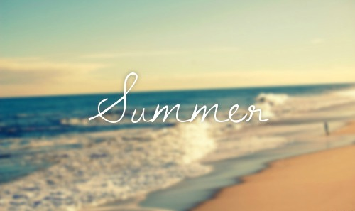 Gambar cantik kertas dinding with a beach, a seaside, and an pinggir pantai, oceanfront called SUMMER ♥