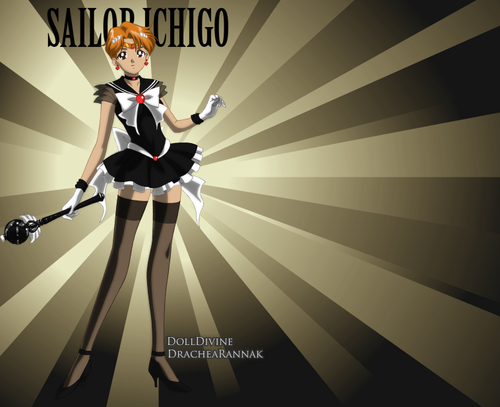 Sailor Ichigo  - bleach-anime Fan Art