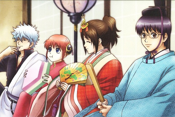 gintama gintoki and otae - photo #43