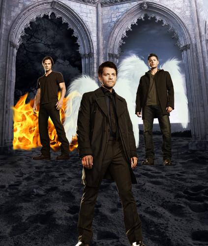 Sam, castiel, Dean
