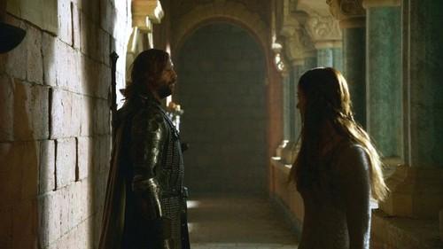 Sandor and Sansa