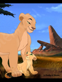 Sarafina_and_Nala - lion-king-fathers-and-mothers photo