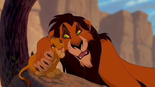 The Lion King wallpaper called Scar & Simba