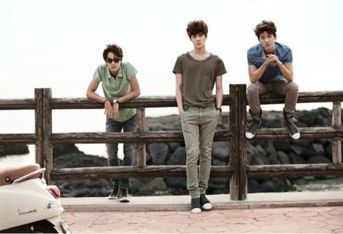 Se Hun, Baek Hyun & KAI for Vogue Girl