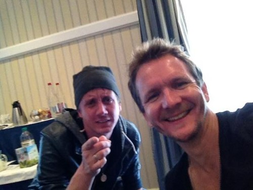 Seb & Chad at Paris Con - sebastian-roche Photo