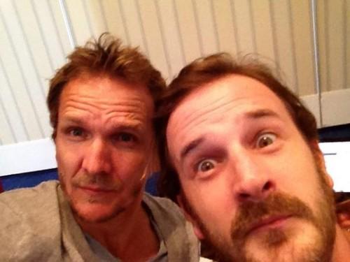 Seb and Richard at Paris Con