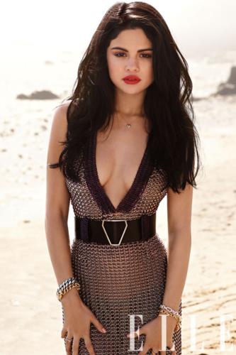 Selena - Magazine Scans - Elle - July 2012