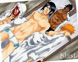 animê bleach wallpaper containing animê entitled Sexy Bleach boys