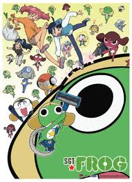 Sgt. Frog (Keroro Gunso) wallpaper with a turntable titled Sgt Frog Poster