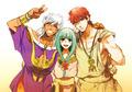 Sharrkan, Yamuraiha & Masrur