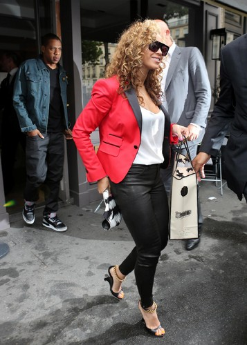 Shopping At La Maison De La Truffe In Paris [6 June 2012]