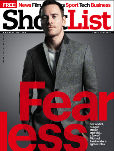Shortlist magazine cover