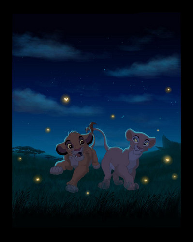 The Lion King wallpaper possibly containing an embryonic cell called Simba and Nala