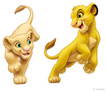 Simba and Nala - the-lion-king-cubs photo